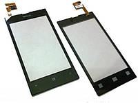 Сенсор (тачскрин) Nokia 520, 525 Lumia чёрный оригинал