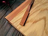 """Деревянная свадебная книга для пожеланий 17х28 см с кожаным корешком """"Двое"""", фото 3"""