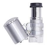 Микроскоп MG9882A 60x, увеличение в 60 раз, фото 3