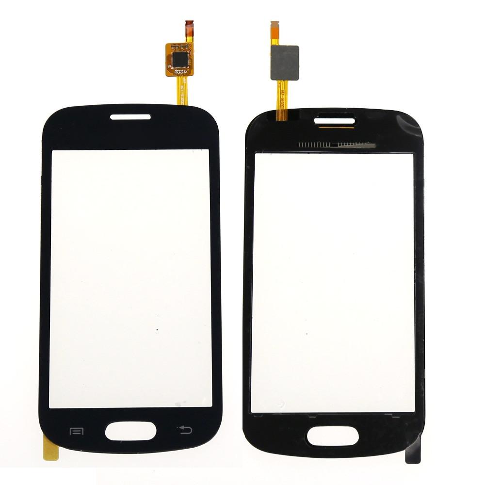 Сенсор (тачскрин) Samsung S7390, S7392 Galaxy Trend Duos чёрный