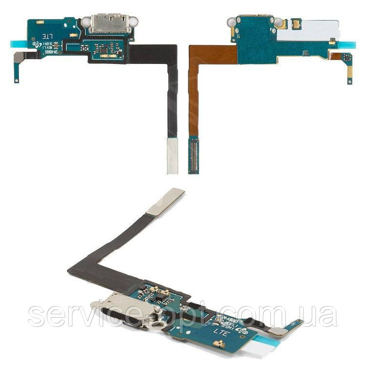Шлейф Samsung N900 Note 3, N9000, N9005, N9006 с разъемом зарядки, микрофоном