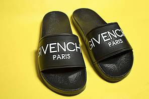 Мужские сланцы Givenchy Black  (Реплика), фото 2
