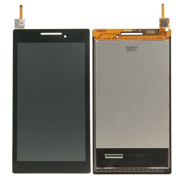 Дисплей Lenovo A7-10 Tab 2, A7-20F + сенсор чёрный + рамка