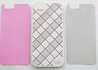 Чехол-накладка для Apple iPhone 6S iPhone 6, пластиковый, Soft touch, Cococ, Белый /case/кейс /айфон