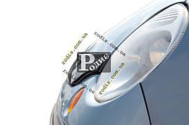Дефлектор капота DAEWOO MATIZ 2000-н.в. АБС - Мухобойка Деу Матиз