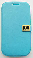 Чехол-книжка боковой для Samsung Galaxy S3 i9300, Q-CASE, Голубой /case/кейс /самсунг галакси, фото 1