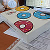 Упаковка для пончиков 220х300х60мм