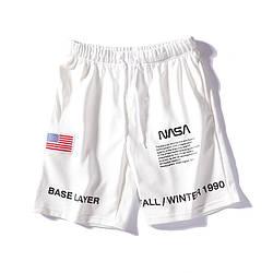 Спортивные шорты NASA x Heron Preston оверсайз