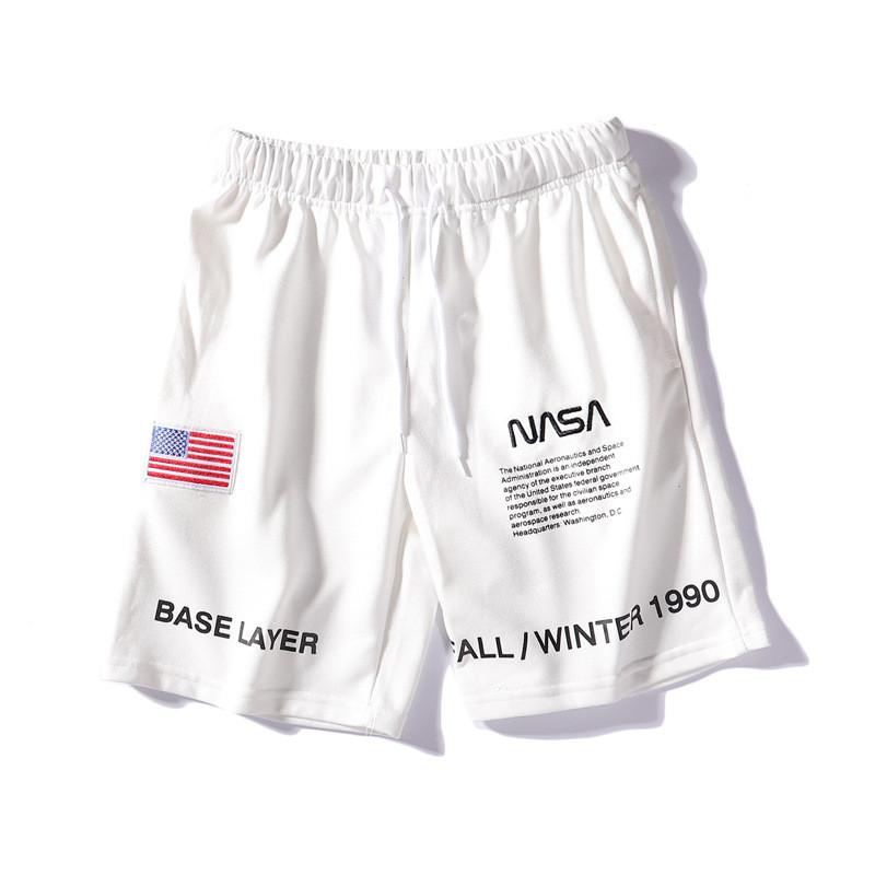 Белые шорты NASA x Heron Preston мужские