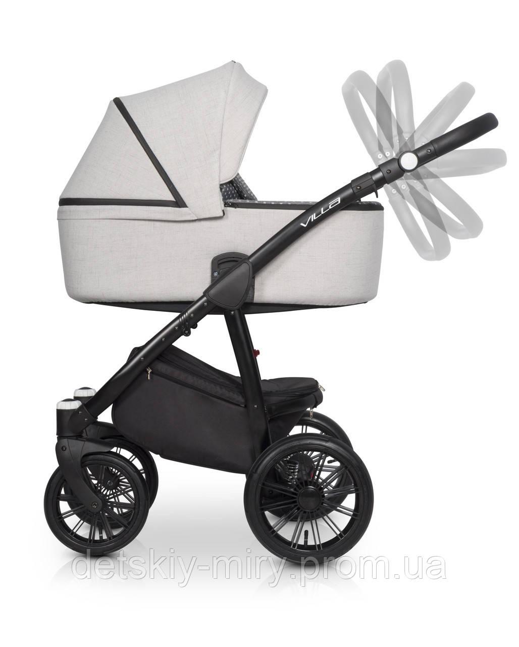 Детская универсальная коляска 2 в 1 Riko Villa - фото 8