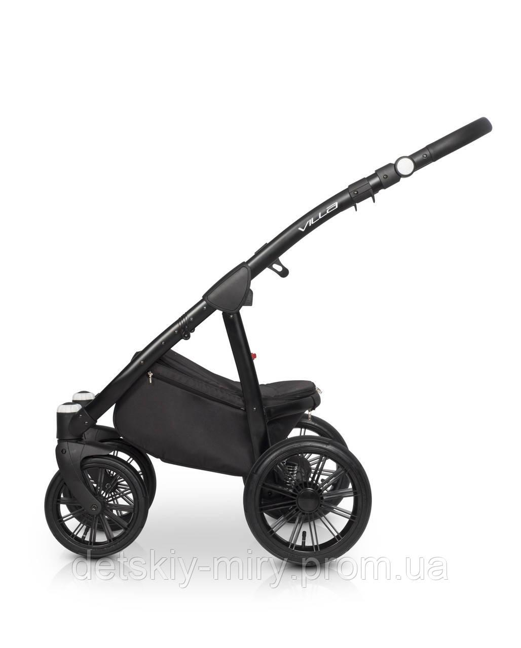 Детская универсальная коляска 2 в 1 Riko Villa - фото 9