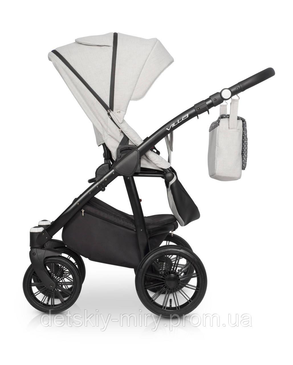 Детская универсальная коляска 2 в 1 Riko Villa - фото 10