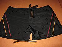 Плавки-боксеры для купания мужские FUBA.YI черные на шнуровке р.50