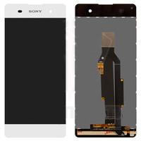 Дисплей Sony F3111 Xperia XA, F3112, F3113, F3115, F3116 + сенсор белый