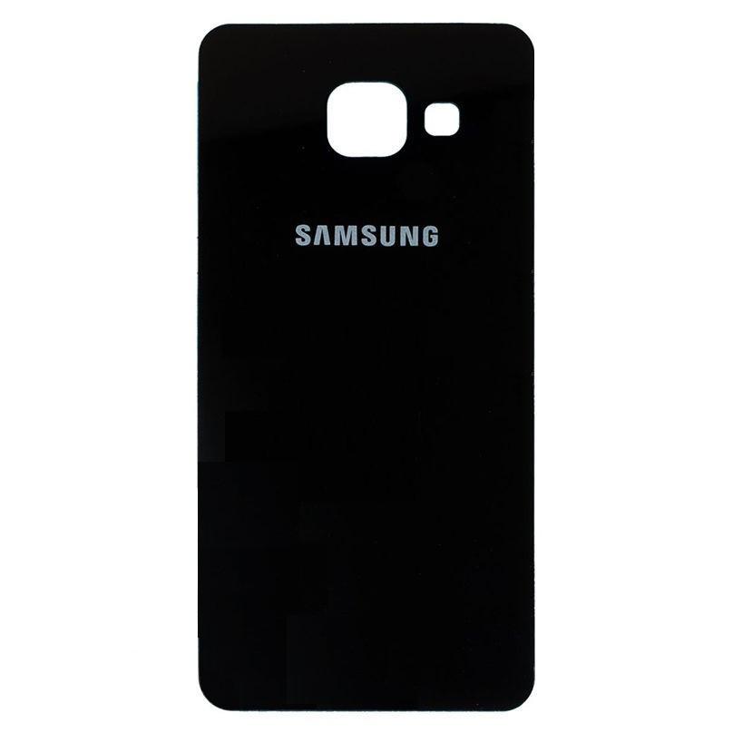 Задняя крышка Samsung A710F Galaxy A7 (2016) чёрная