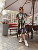 Сукня-сорочка, тканина:софт(бавовни з віскозою). Розмір: З(42-44)М(44-46).Різні кольори (6471), фото 9
