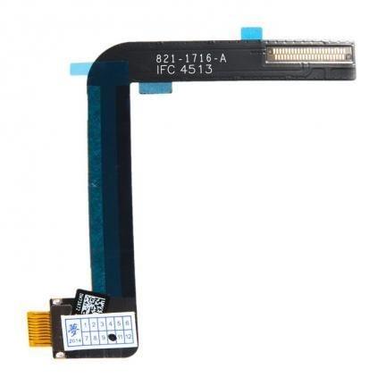 Шлейф iPad Air 2 с разъемом зарядки белый