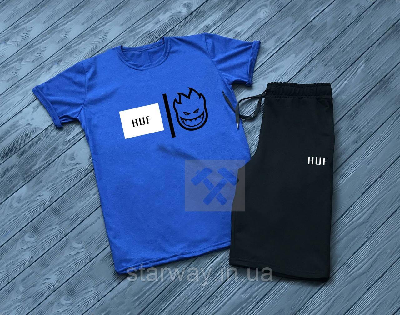 Комплект футболка и шорты Huf   spitfire logo
