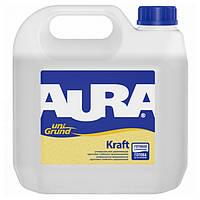 Грунтовка укрепляющая глубокого проникновения Aura Unigrund Kraft, 10 л