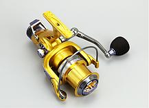 Рыболовная катушка Yumoshi KM 6000 безынерционная с байтраннером, фото 3