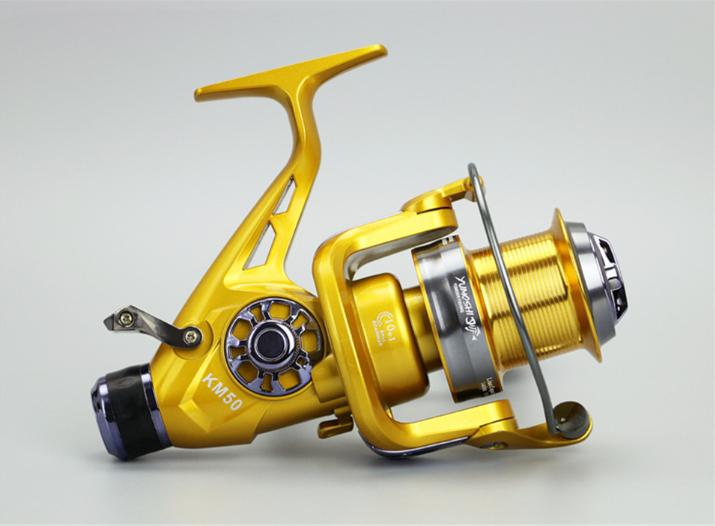 Рыболовная катушка Yumoshi KM 6000 безынерционная с байтраннером