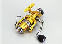 Рыболовная катушка Yumoshi KM 6000 безынерционная с байтраннером, фото 2