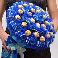 Букет из конфет / сладкий букет / подарочный набор девушке / букет з цукерок / сладкий подарок