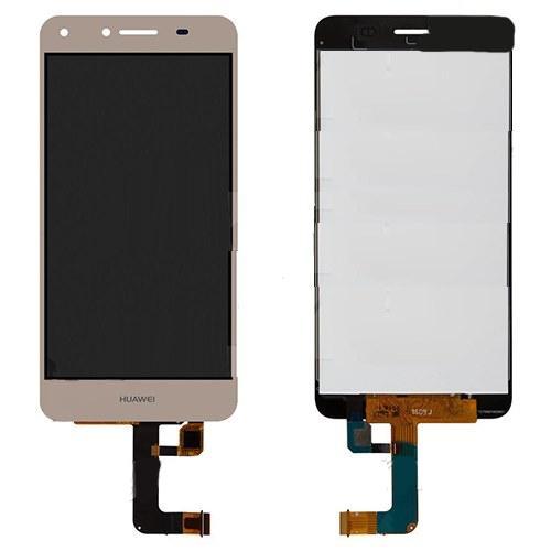 Дисплей Huawei Y5 II (CUN-U29, Honor 5, Honor Play 5) + сенсор золотой (версия 3G)