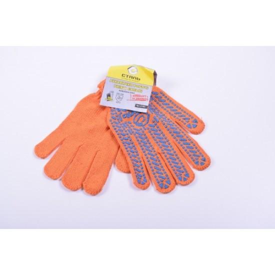 Перчатки рабочие Cталь 21103 без подвески