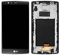 Дисплей LG H540F G4 Stylus Dual, H542, H631, H635, LS770 + сенсор чёрный + рамка