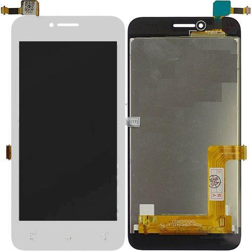 Дисплей Lenovo A1010 A Plus (A1010a20, A2016a40) Vibe B + сенсор белый
