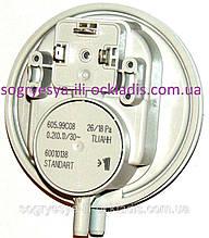 Прессостат повітря вентилятора 26/18 Ра 3 кл. (б ф.у, EU) Bosch, Buderus, Demrad, арт. PS14I, к. з. 0050/2