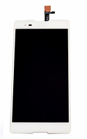 Дисплей Sony D5303 Xperia T2 Ultra, D5322 Xperia T2 Ultra Dual + сенсор белый