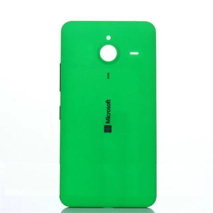 Задняя крышка Microsoft 640 Lumia (RM-1077) зеленая