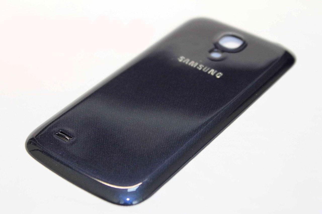 Задняя крышка Samsung i9500 Galaxy S4 синяя
