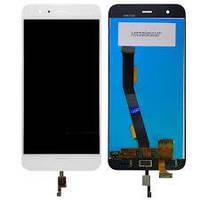 Дисплей Xiaomi Mi6 + сенсор белый