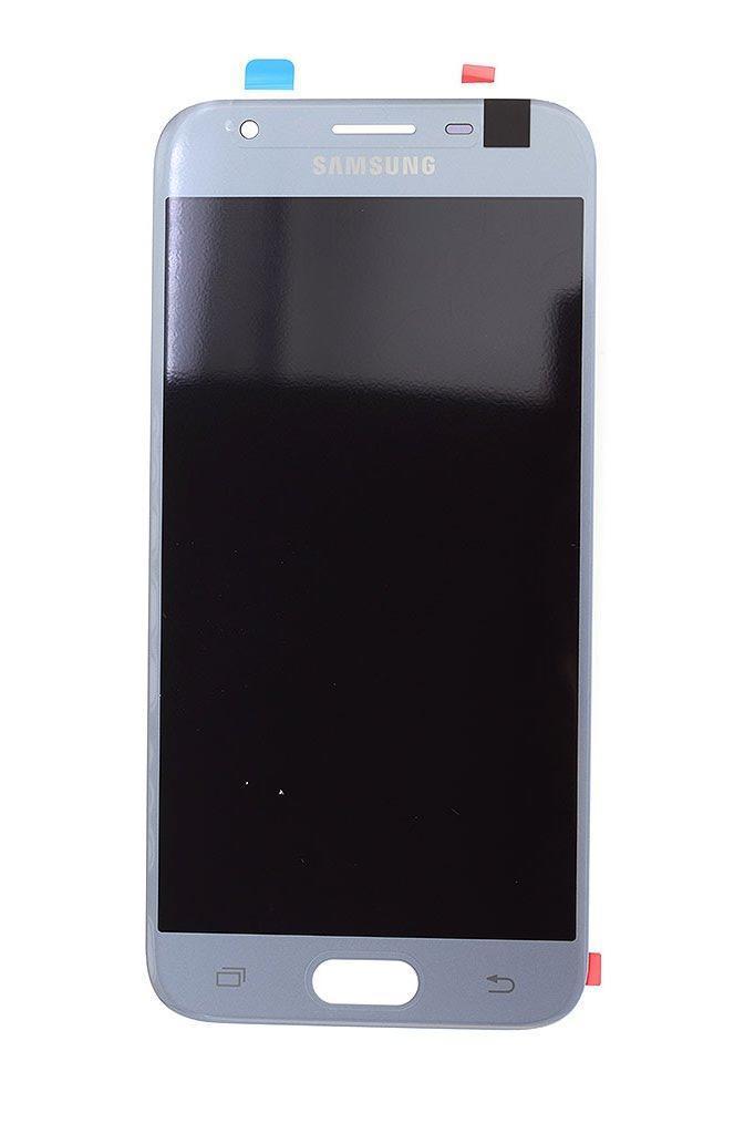 Дисплей Samsung GH96-10992A J330 Galaxy J3 (2017) + сенсор серебро сервисный