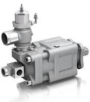 Аксиально-поршневой насос двухпоточный Sunfab SLPD 20/20-64/32 DIN Savtec с отсечным клапаном