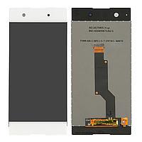 Дисплей Sony G3112 Xperia XA1 Dual, G3116, G3121, G3125 + сенсор белый