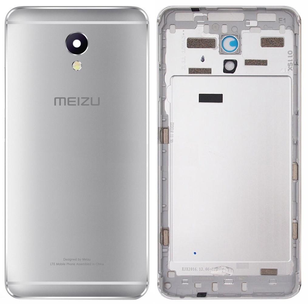 Задняя крышка Meizu M5 Note серая оригинал