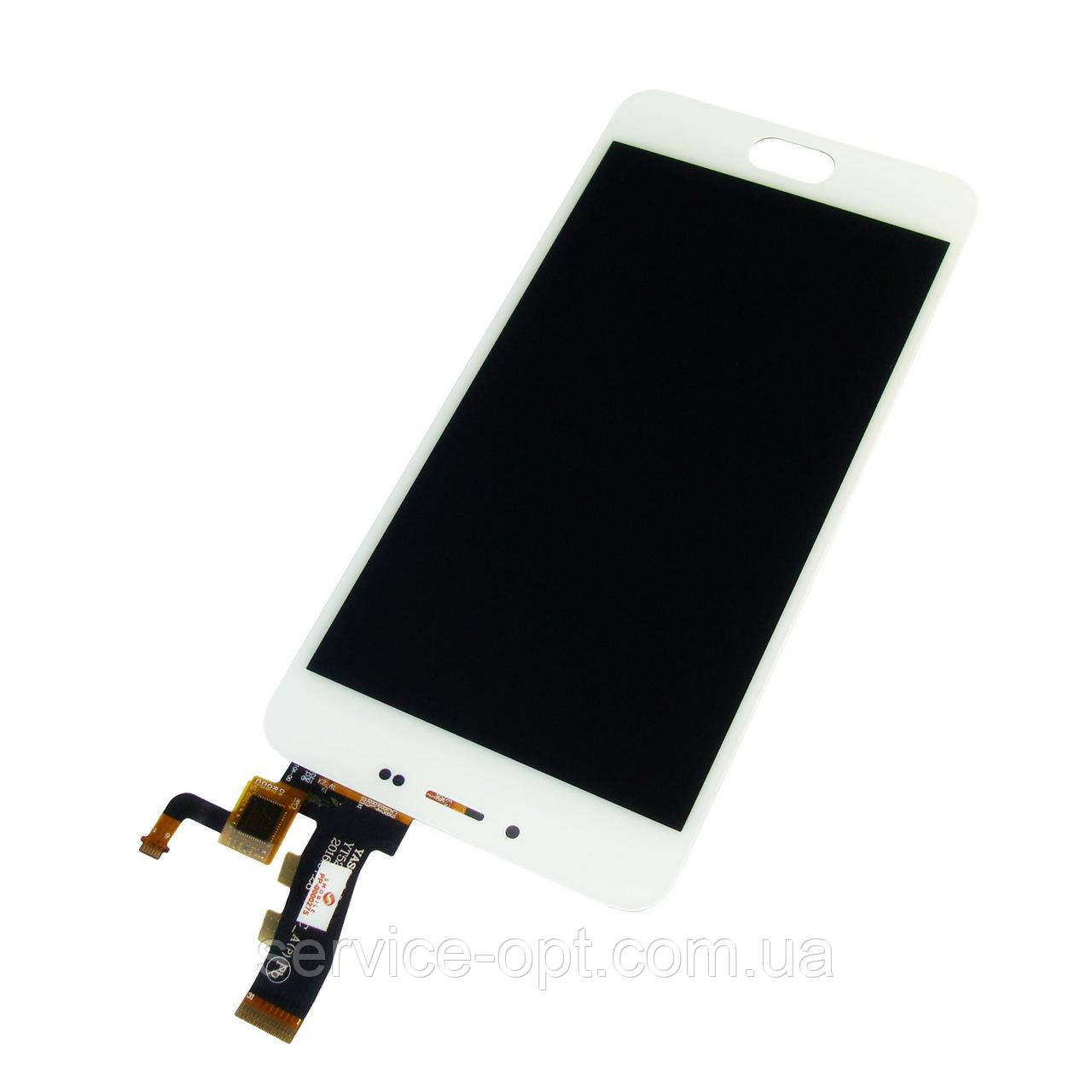 Дисплей Meizu M5, M5 mini + сенсор белый