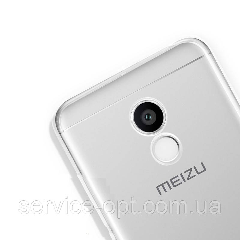 Задняя крышка Meizu Pro 6 серебро
