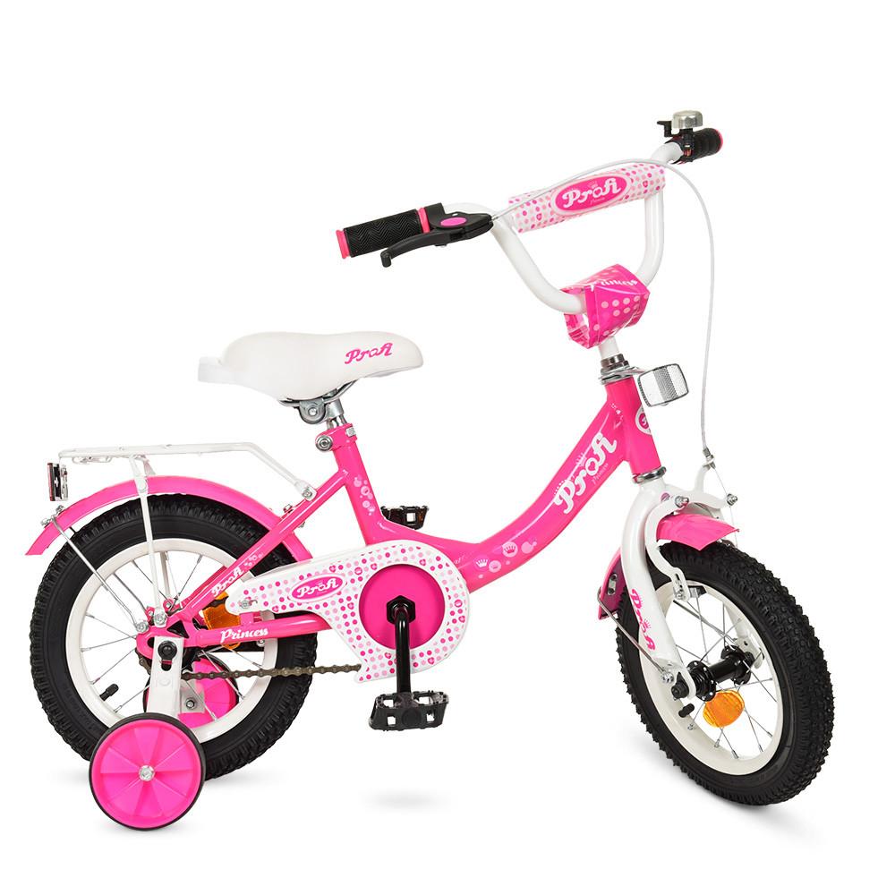 Детский велосипед детский PROF1 12 дюймов Princess Y1213  Гарантия качества Быстрая доставка