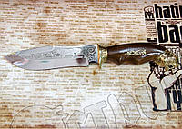 """Нож туристический эксклюзивный Спутник """"Тигр"""" для охоты, рыбалки, туризма"""