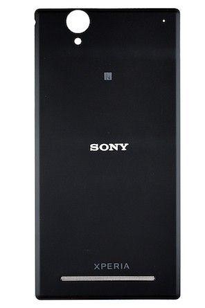 Задняя крышка Sony D5303 Xperia T2 Ultra, D5306, D5322 чёрная оригинал