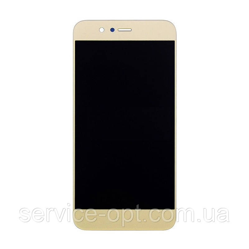 Дисплей Huawei Nova 2 (PIC-L29) 2017 + сенсор золотой