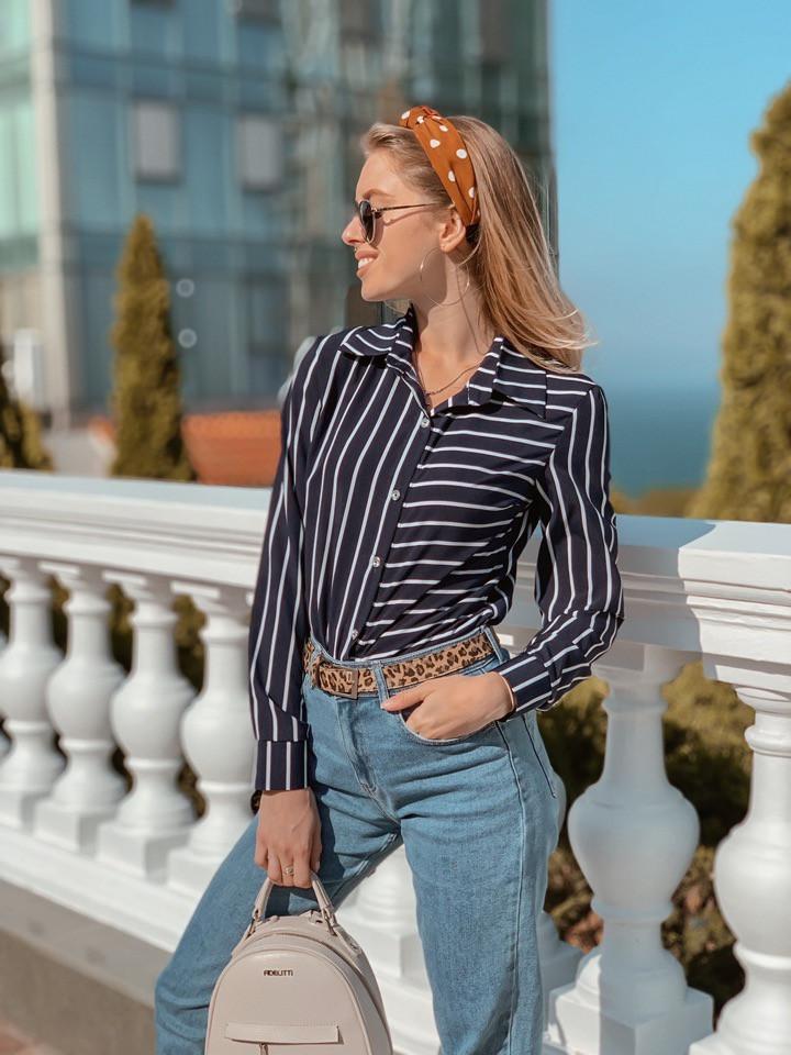 Рубашка, ткань: софт(хлопок с вискозой). Размер: С(42-44)М(44-46). Разные цвета (6475)