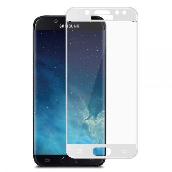 Защитное стекло Samsung J530 Galaxy J5 (2017) 2.5D Full Screen белое (тех упаковка)