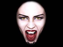 Ікла на Хеллоуїн 2 шт (вампір, зомбі)