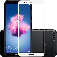 Защитное стекло Huawei P Smart 2.5D Full Screen белое (тех упаковка)